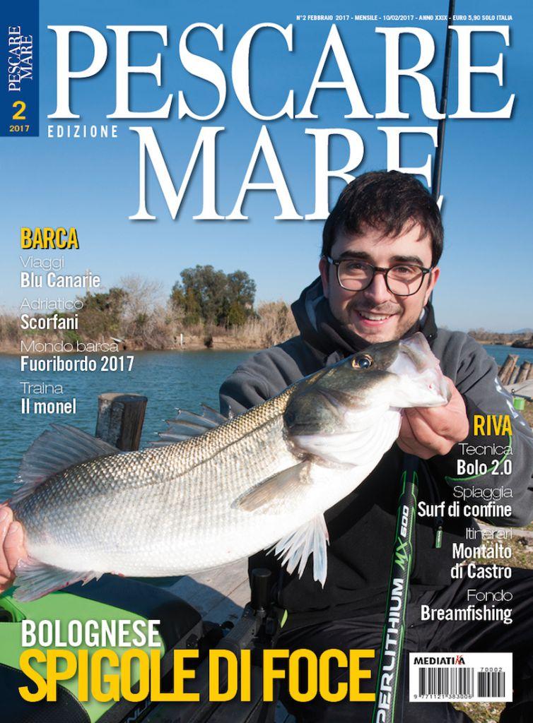 PESCA in MARE - Anteprima del numero di febbraio 2017 in edicola.