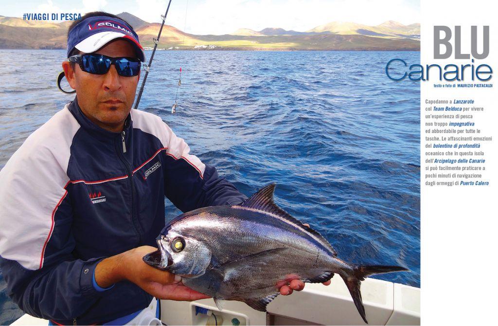 Viaggi di pesca: Canarie. Pesca a bolentino a Lanzarote. Itinerari di pesca.