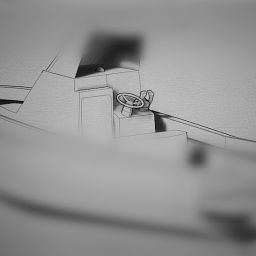 Fishingboat ALCUSTOM AL23, fisherman in carbonio.