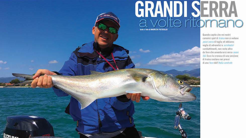 Alla ricerca degli hot spot per la pesca del pesce serra.