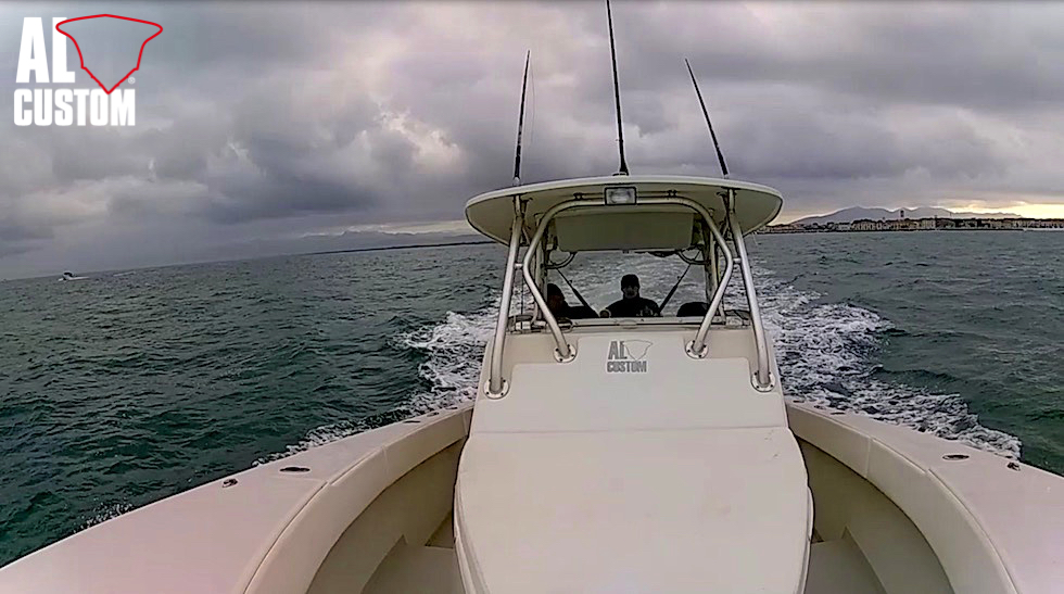 "Fishing boat ALCUSTOM AL30 ""Baloo"" in gara al Tuscany Tuna Contest 2017"