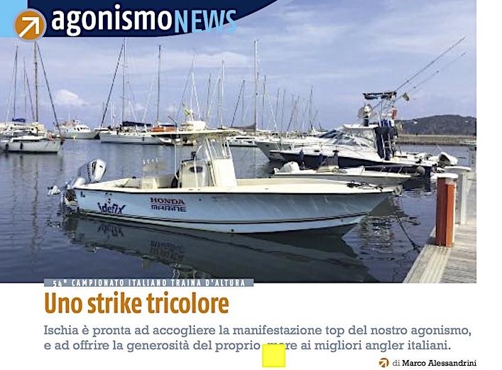 Ischia, Campionato Italiano Traina d'Altura 2017