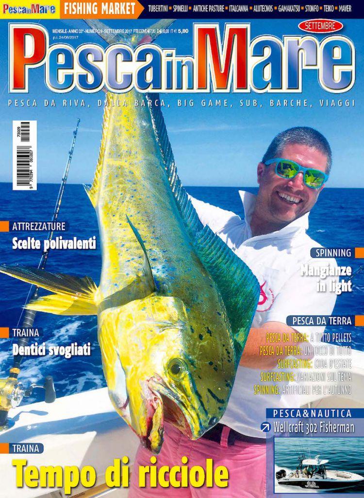 PESCA in MARE – Anteprima del numero di settembre 2017 in edicola.