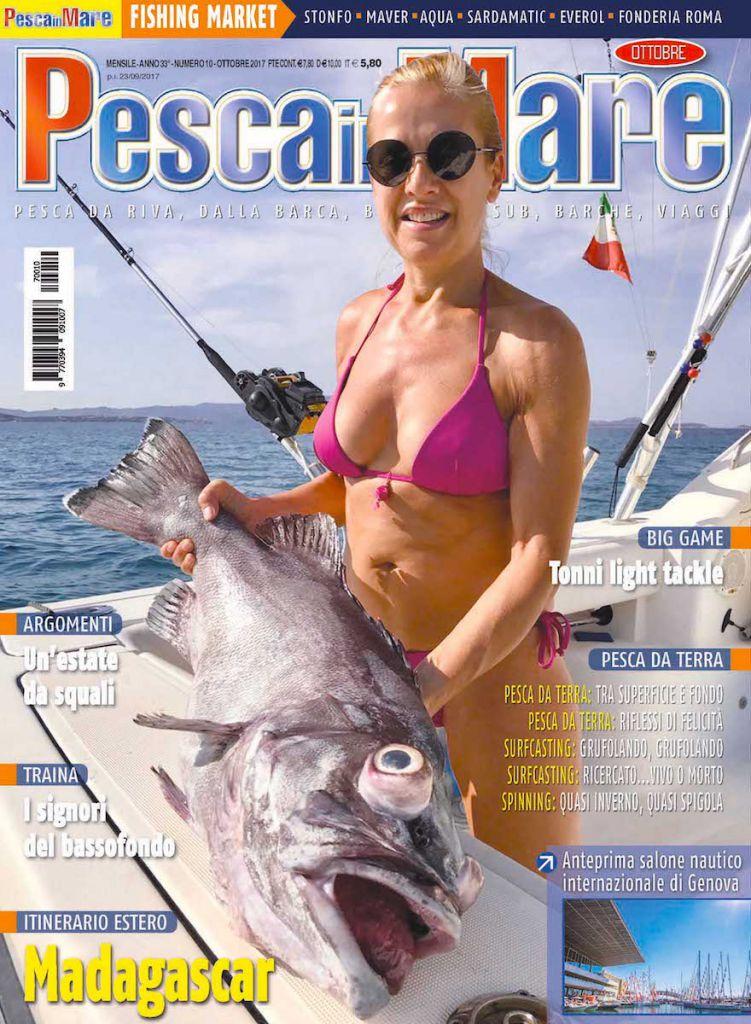 PESCA in MARE – Anteprima del numero di ottobre 2017 in edicola.
