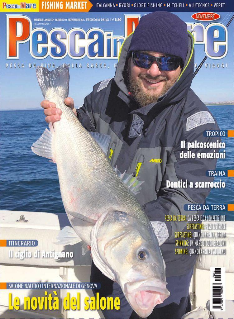 PESCA in MARE - Anteprima del numero di novembre 2017 in edicola.