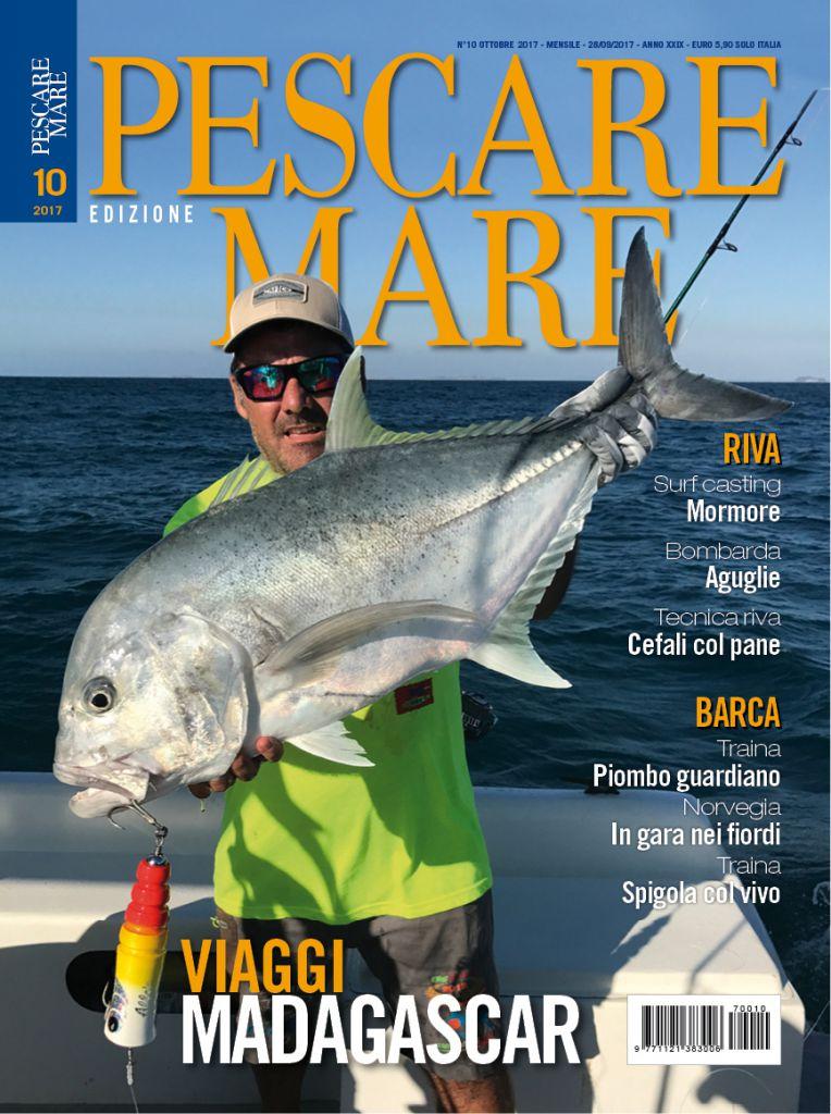 Pescare Mare, rivista di pesca sportiva in mare. Traina col vivo, drifting, bolentino di profondità