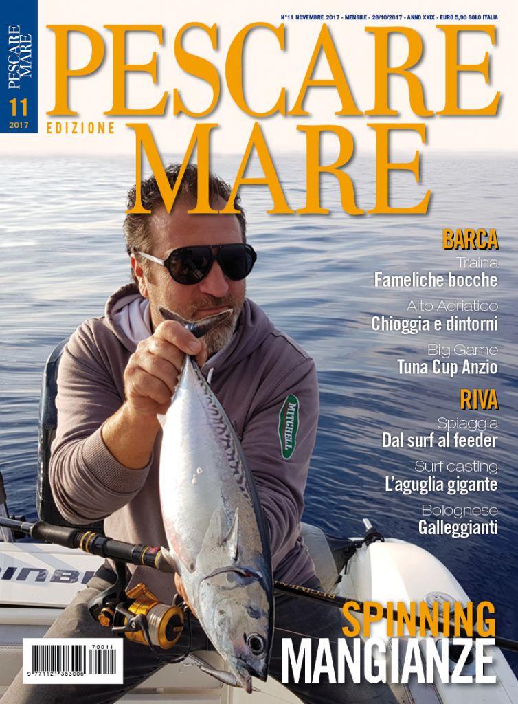 PESCARE MARE – Anteprima del numero di novembre 2017 in edicola.