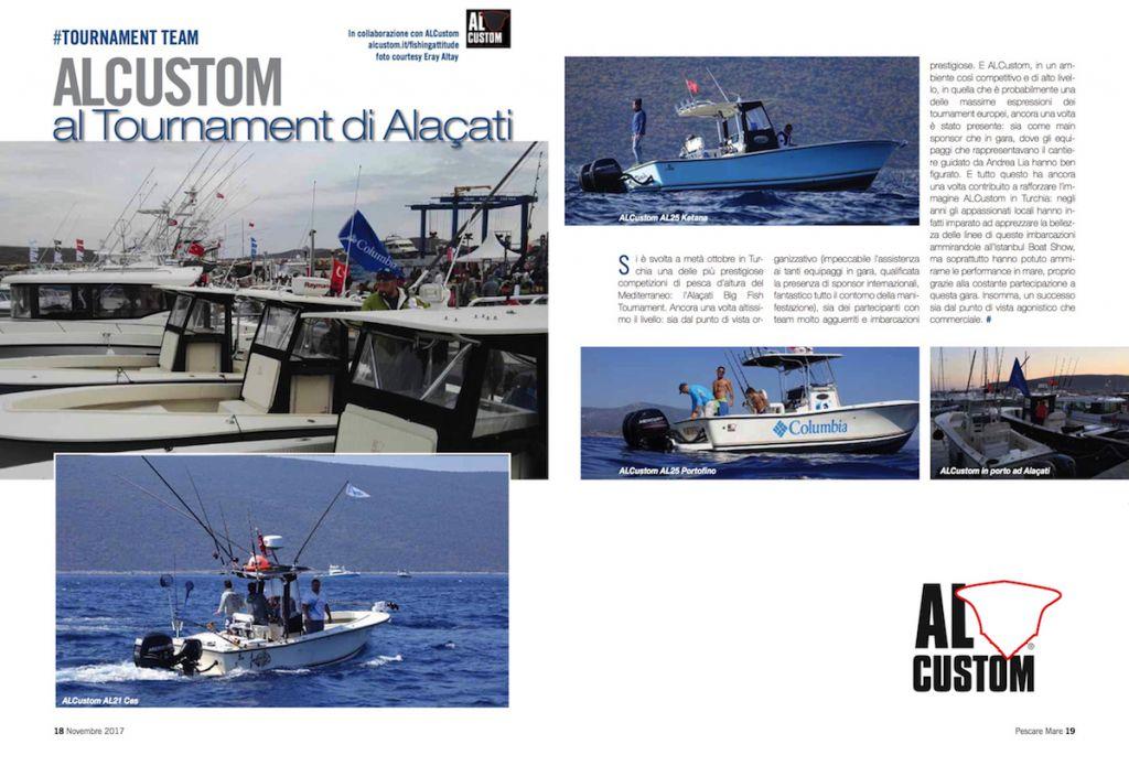 Alaçati Big Fish Tournament: in Turchia una delle più prestiose gare di pesca d'altura del Mediterraneo.