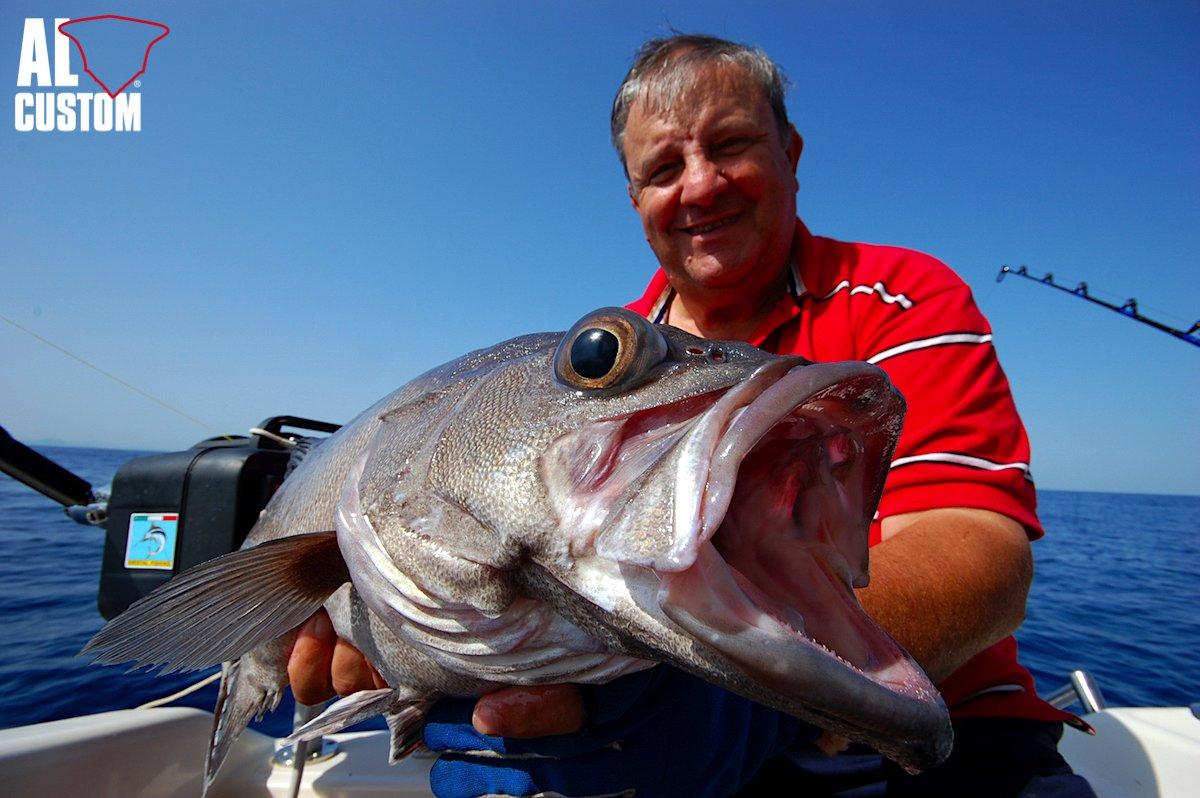 Bolentino di profondità: la pesca delle cernie di fondale.