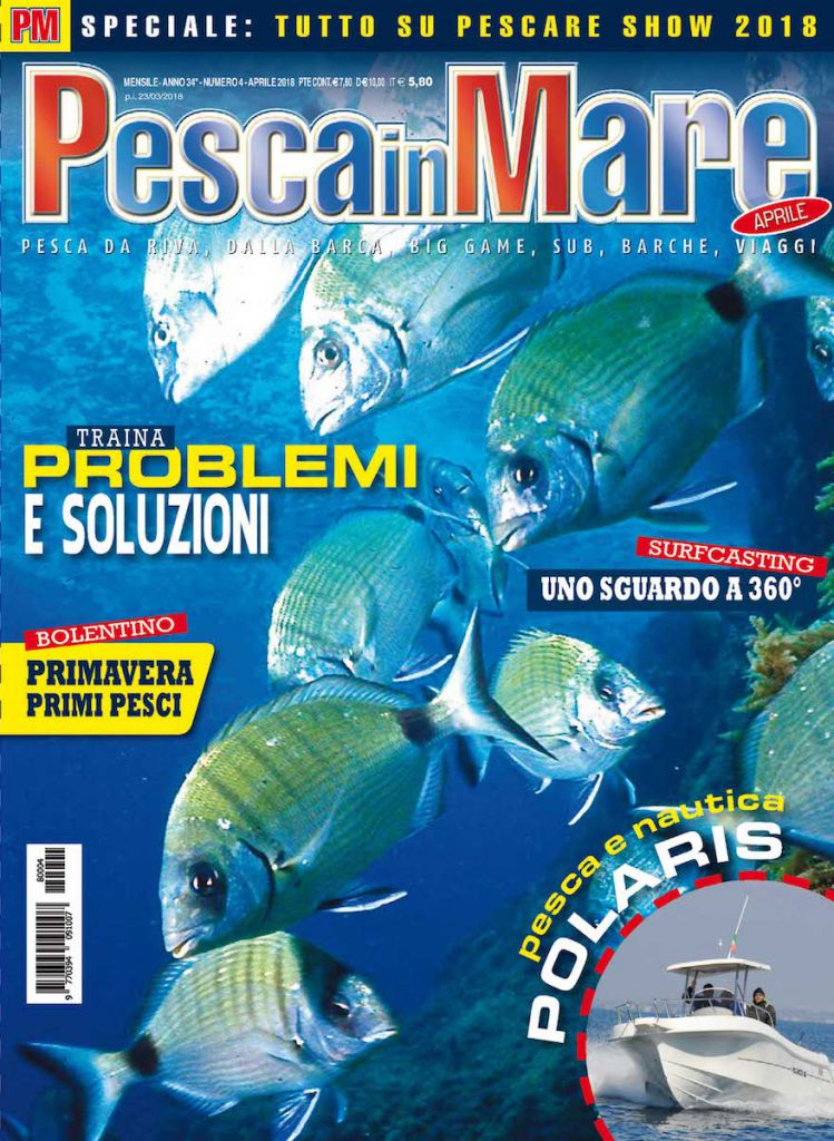 Pesca in Mare, aprile 2018. Pesca a bolentino, traina col vivo, spinning dalla barca, Big Game.