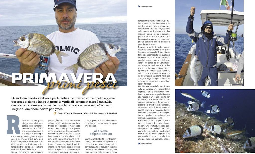 Pesca a bolentino in mare: tecnica e fishing tackle