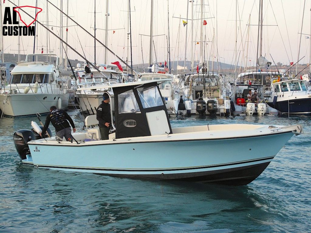 AL CUSTOM AL25 ad Alaçati: in gara la fishing boat dell'ALCUSTOM Tournament Team