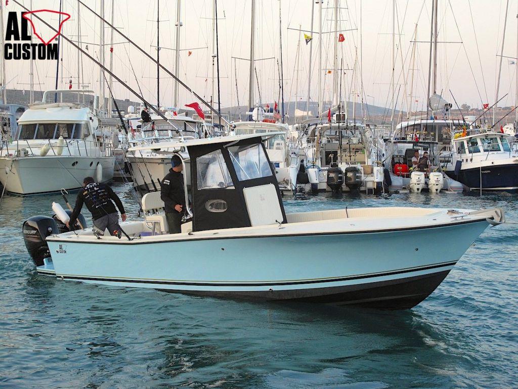 AL CUSTOM AL25 ad Alaçati: in gara la fishing boat dell'ALCUSTOM Tournament Team